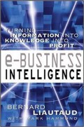 E-Business intelligence : turning information into knowledge into profit