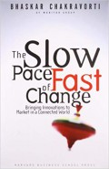 The Slow pace of fast change : bringing innovations to market in a connected world