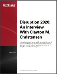 Image of Disruption 2020: An Interview With Clayton M.Christensen